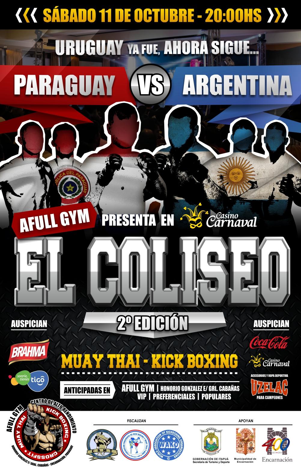 Afiche Muay Thai 2e web